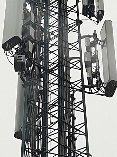 Ongebruikte aansluitingen in de nieuwe antennes